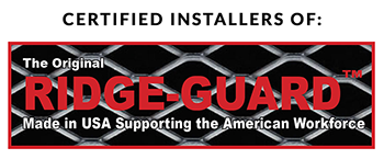 Certified Installers of Ridge Gaurd